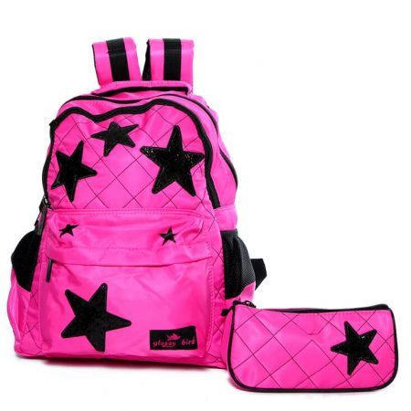 Glossy Bird Stars Backpack