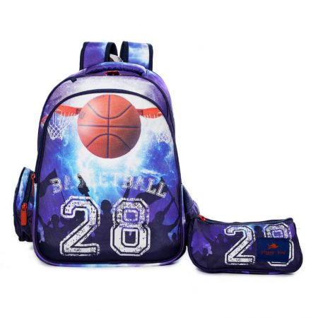 Glossy Bird Basketball Backpack