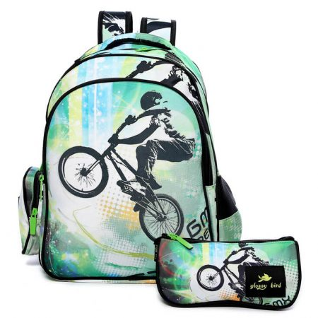 Glossy Bird Bicycle Backpack