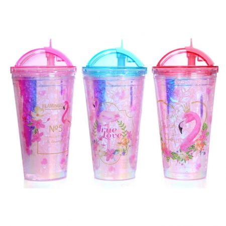 Flamingo Water Cup