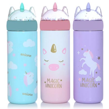 Cute Unicorn Vacuum Bottle