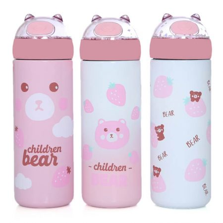 Cute Bear Vacuum Bottle