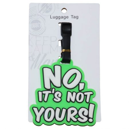 Green Tag with Quote